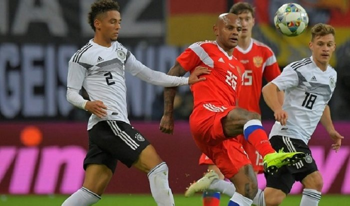 Сборная России пофутболу всухую проиграла навыезде Германии вконтрольном матче