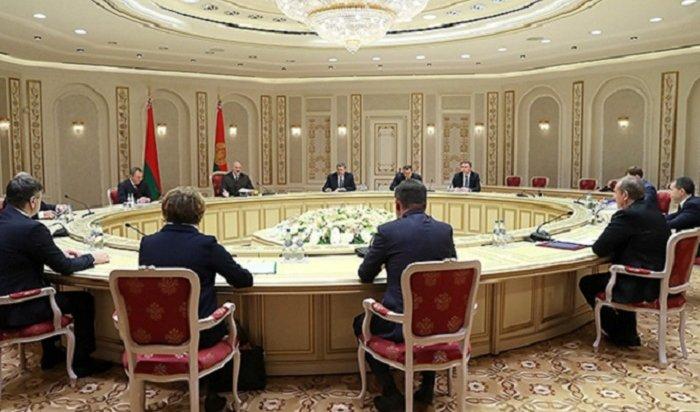 Губернатор Приангарья встретился спрезидентом Республики Беларусь