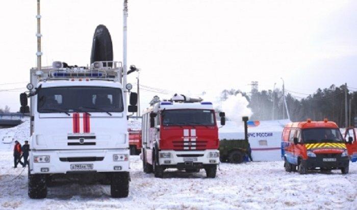 Спасатели Приангарья патрулируют опасные участки федеральных трасс