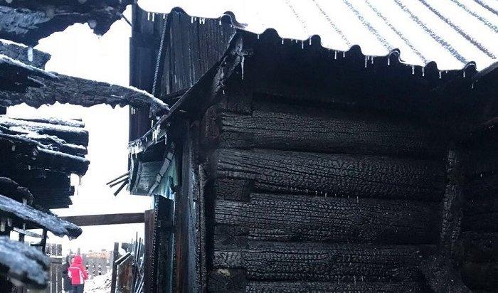 Два человека погибли напожарах вПриангарье вминувшие выходные дни