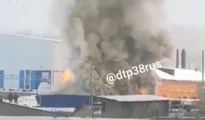 Впредместье Марата горели строительные вагончики натерритории очистных сооружений (Видео)