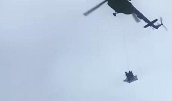 Появление военных вертолетов над Кремлем отказалась комментировать ФСО (Видео)