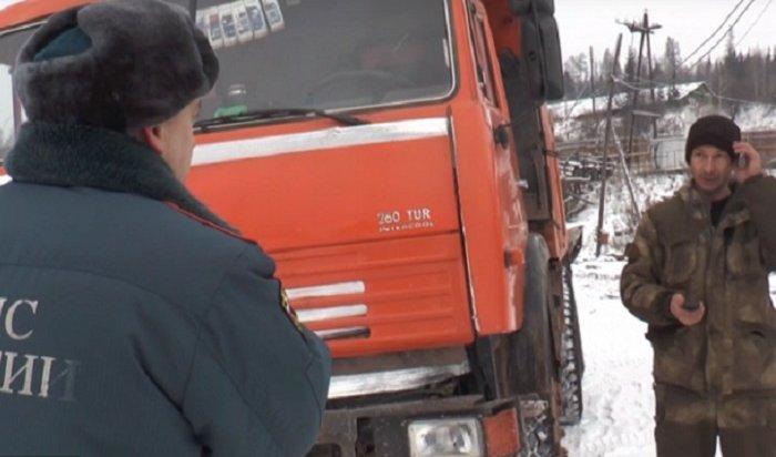 ПожарныеУсть-Кута поймали водителя, который ехал жечь покрышки
