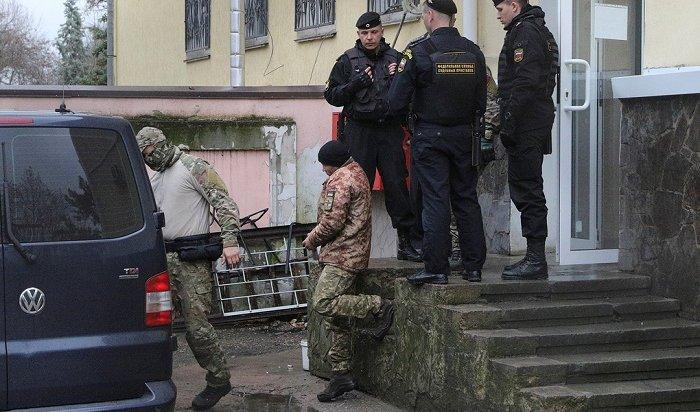 Суд арестовал 12украинских моряков, нарушивших российскую границу
