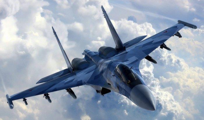 Российские Су-27перехватили над Балтикой