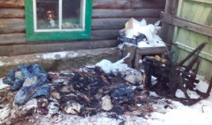 Трое детей, погибших напожаре вХудоеланском, ночевали вдоме одни
