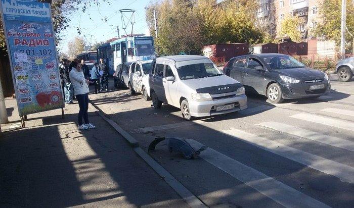 ВИркутске полицейские ищут свидетелей ДТП спострадавшими