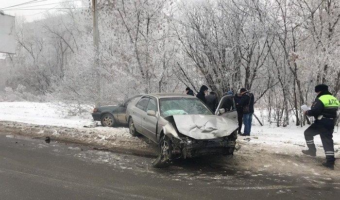 ВИркутске ирайоне случилось 40ДТП напрошлой неделе