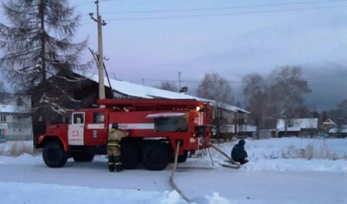 Количество пожаров вИркутской области увеличилось из-за морозов
