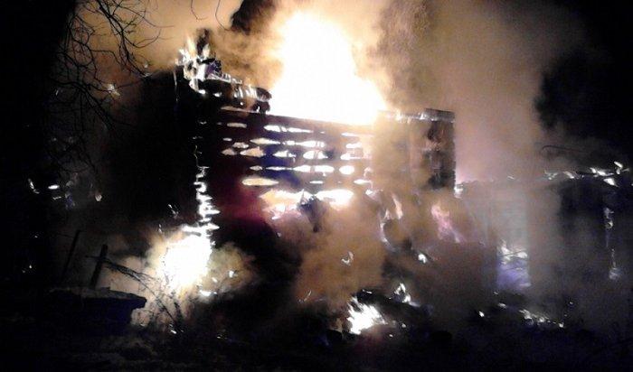 ВБратске напожаре вдачном доме погибли супруги (Видео)