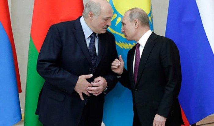 Возмущенный Лукашенко грубо одернул Путина (Видео)