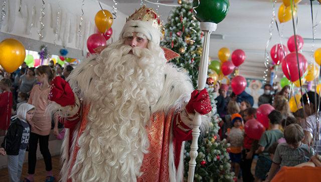 Маленьким иркутянам предлагают написать письмо Деду Морозу вобщественной приемной Роспотребнадзора