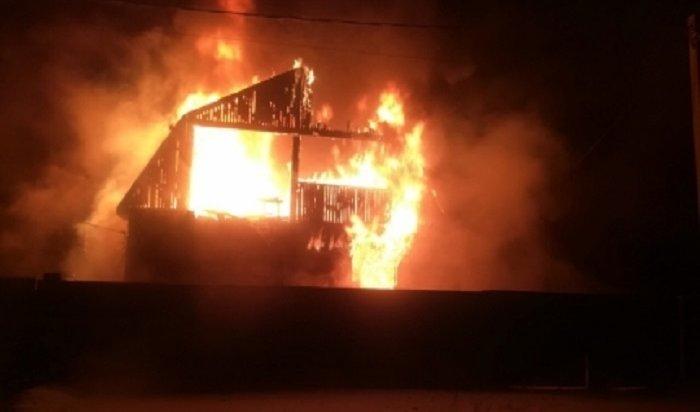 Вселе Введенщина напожаре погиб 4-летний мальчик