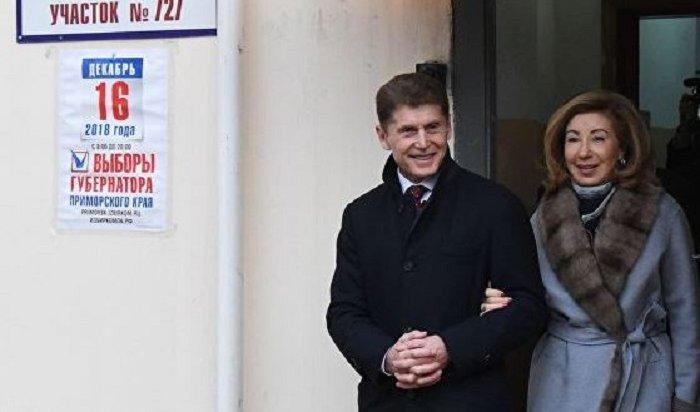 Олег Кожемяко победил наповторных выборах главы Приморья