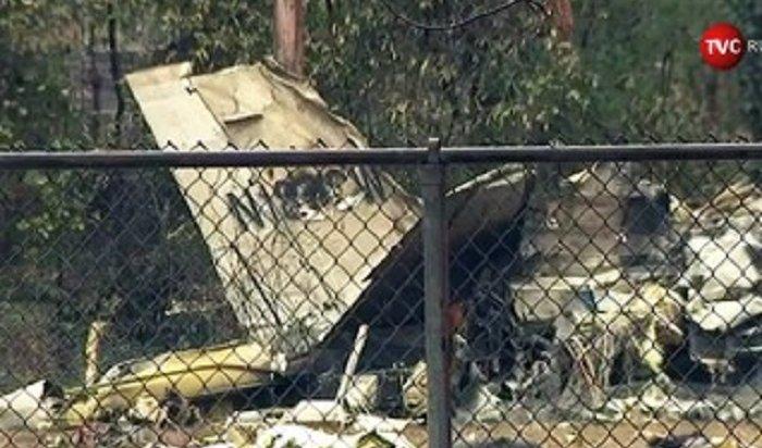 ВСША три человека погибли при падении самолета нафутбольное поле (Видео)