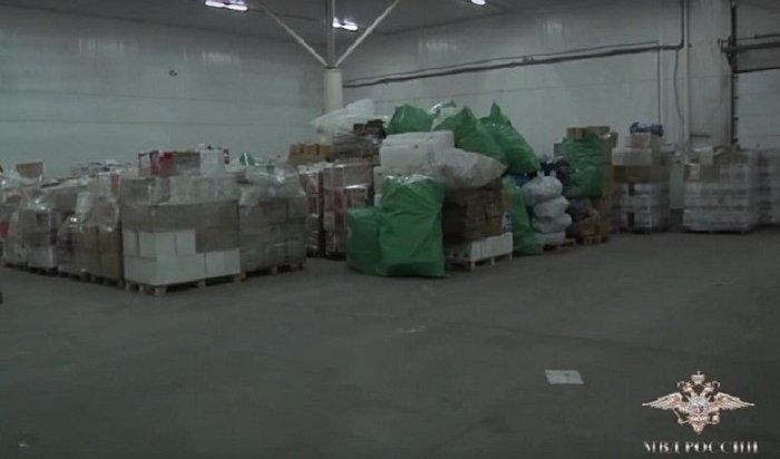 Полицейские Приангарья предотвратили поступление 200тонн фальсифицированного алкоголя вторговлю (Видео)