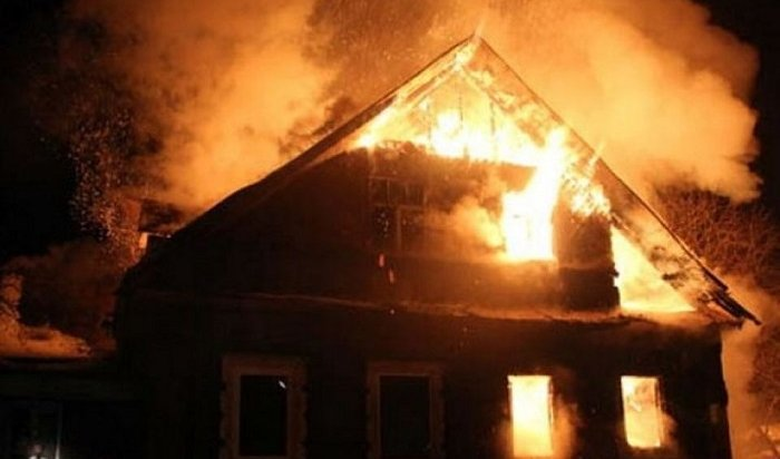 Впервые дни нового года напожарах вПриангарье погибли два человека