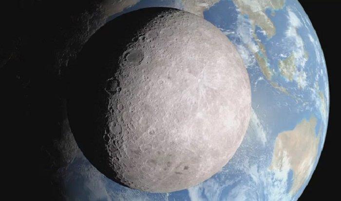 Появилось видео посадки китайского зонда наобратной стороне луны