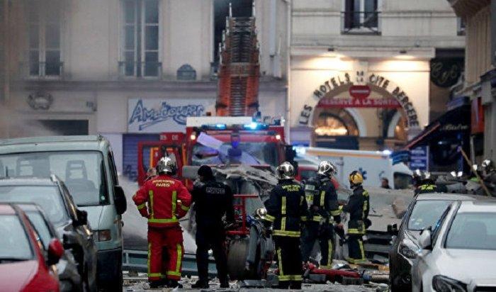 Украинец пострадал при взрыве вцентре Парижа