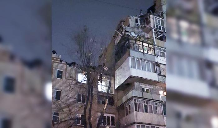 ВРостовской области из-за мощного взрыва обрушился дом