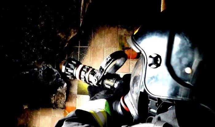 Иркутянин погиб напожаре вдевятиэтажке наРозы Люксембург