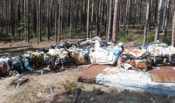 Сотрудники турбазы наБайкале закапывали мусор вводоохранной зоне