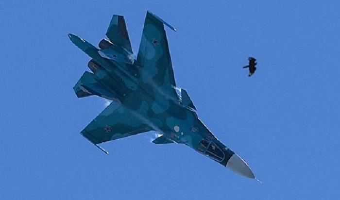 Два истребителя-бомбардировщика Су-34столкнулись ввоздухе наДальнем Востоке