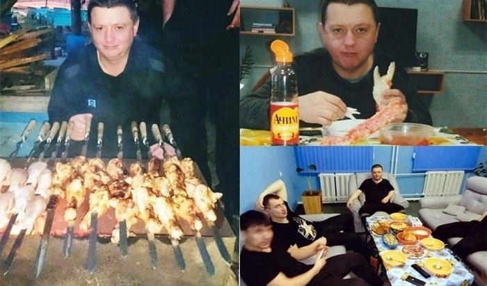 Новое видео о«шикарной жизни» Цеповяза вколонии опубликовали вСети