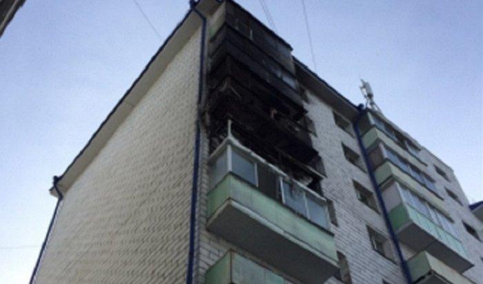 Изгорящей девятиэтажки наулице Шпачека эквакуировали более 30человек (Видео)