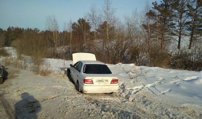ВИркутске задержали пьяного угонщика автомобиля Toyota Carina