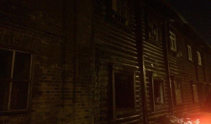 ВИркутске напожаре вдвухэтажке спасли 11человек