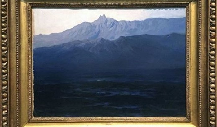 ВМоскве похитили картину Куинджи изТретьяковской галереи (Видео)