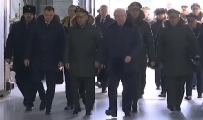 Шойгу проинспектировал Иркутский авиационный завод (Видео)
