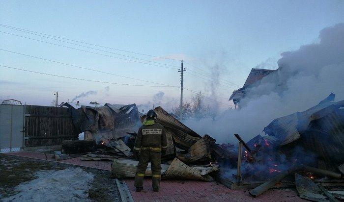 Напожарах вИркутской области погибли 20человек сначала года