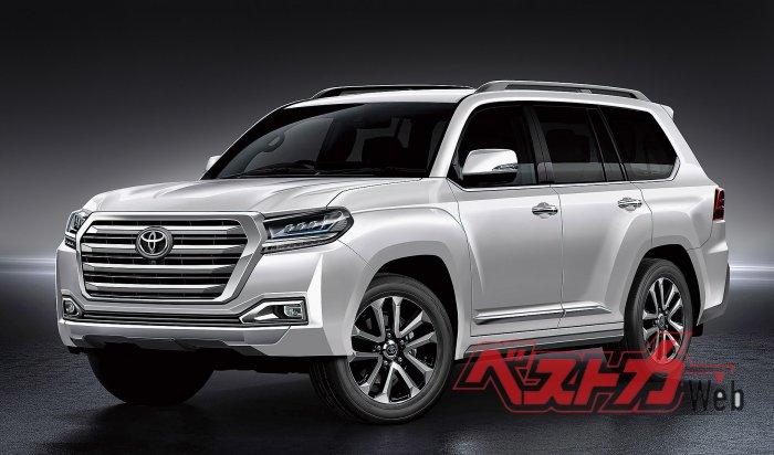 СМИ: Toyota готовится представить Land Cruiser 300