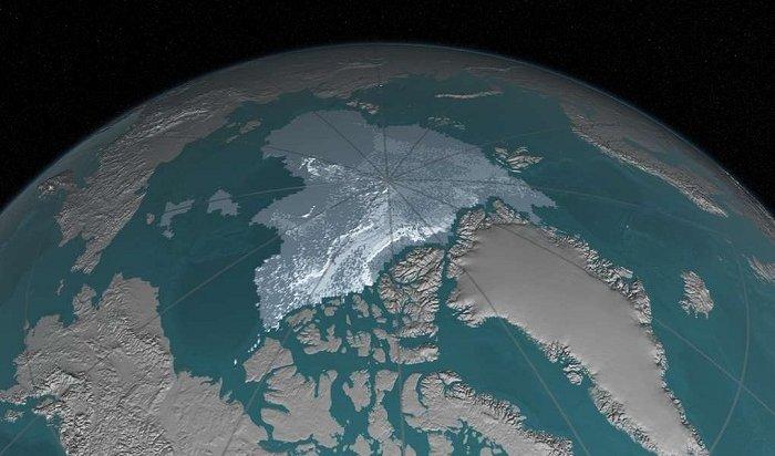 Cеверный магнитный полюс Земли смещается всторону Сибири