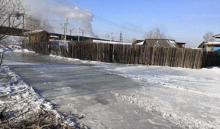 Приусадебные участки подтопило вселе Олха Шелеховского района