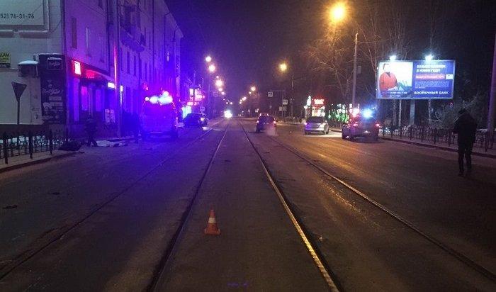 ВИркутске молодой водитель сбил насмерть 85-летнюю женщину наулице Степана Разина