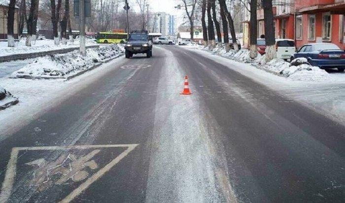 Полицейские ищут очевидцев смертельного наезда на64-летнюю пенсионерку вИркутске
