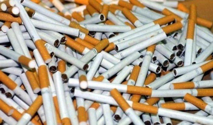 Крупную партию поддельных сигарет на1,5млн рублей изъяли вСлюдянке