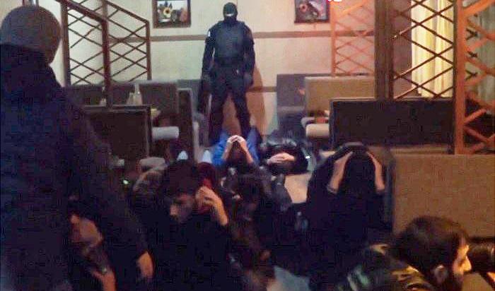 Задержание гастарбайтеров прошло на рынках и в кафе Ленинского района Иркутска (Видео)