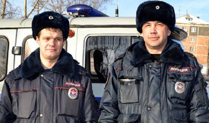 Полицейские Братска задержали грабителя