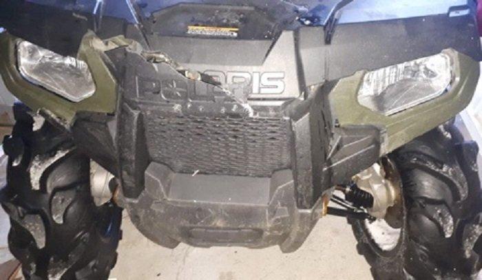 Водитель квадроцикла сбил семью нальду Байкала (Видео)