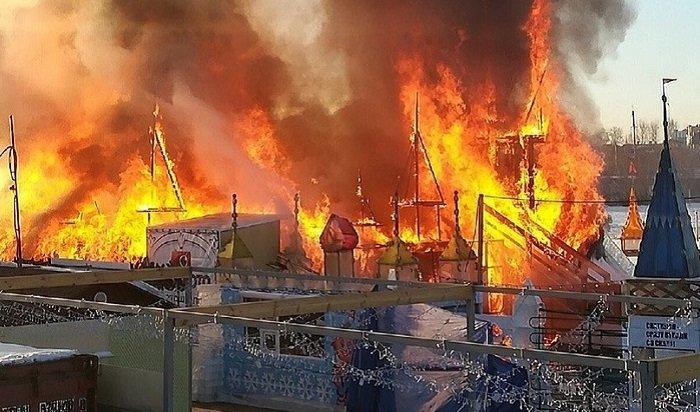 Стала известна предварительная версия пожара в«Хрустальной сказке»