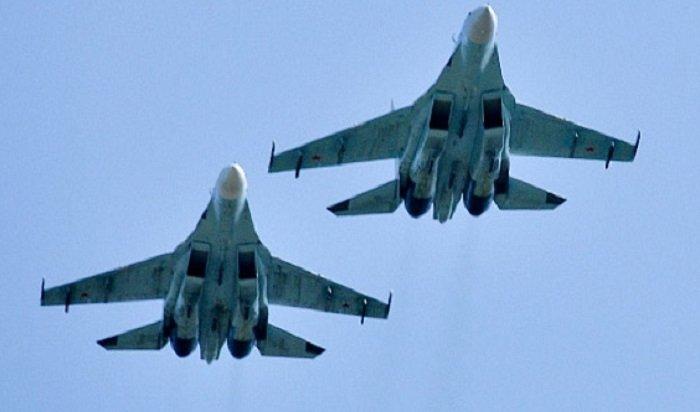 Российские истребители трижды занеделю поднимались наперехват уграниц страны
