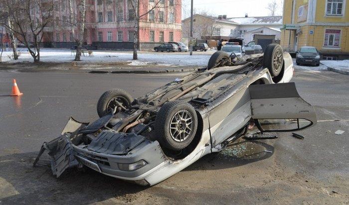 Toyota Camry, попавшая вДТП вИркутскеII, оказалась вугоне (Видео)