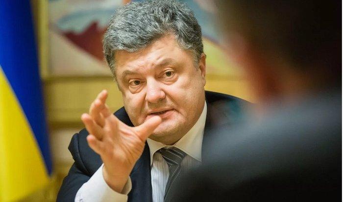 Порошенко ущипнул занос жителя Запорожья (Видео)