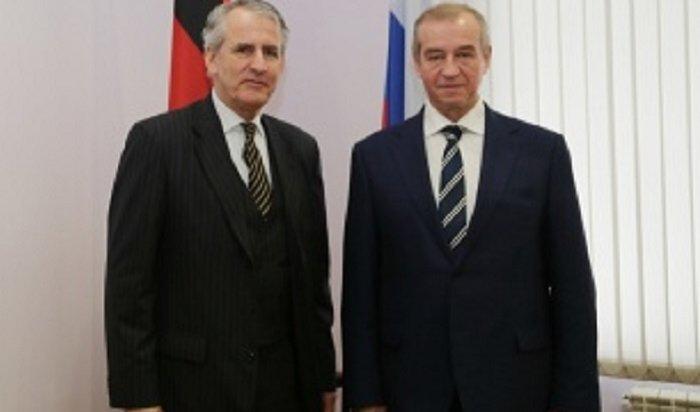 Губернатор Левченко встретился с Генеральным  консулом ФРГ