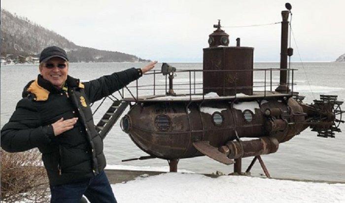 «Король романса» Александр Малинин побывал наБайкале (Видео)