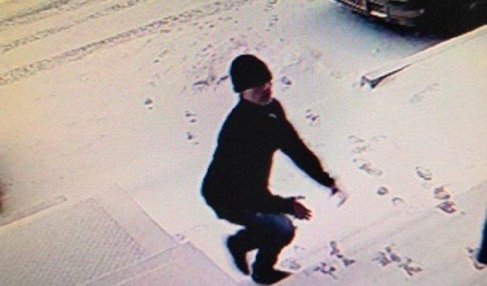 Грабителя-неудачника ищут вИркутске (Видео)